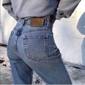 CK Calvin Klein vintage jeans